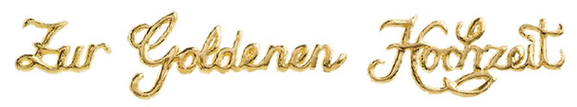 Verzierornament Schriftzug Zur Goldenen Hochzeit Im Online